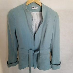 1980s Solva Paris Pale Blue Blazer